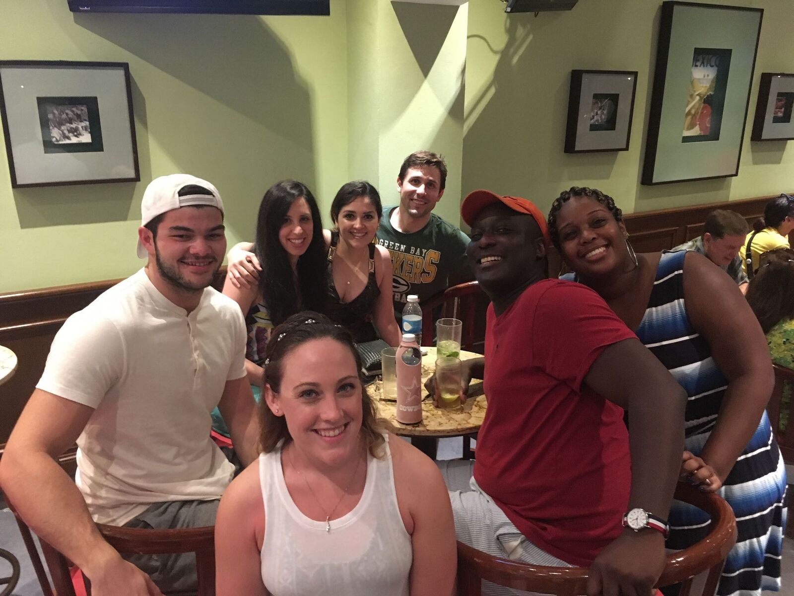 Photo of a group of people hanging out
