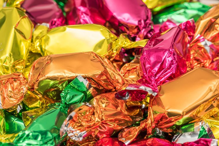 Photo of creamy chocolates