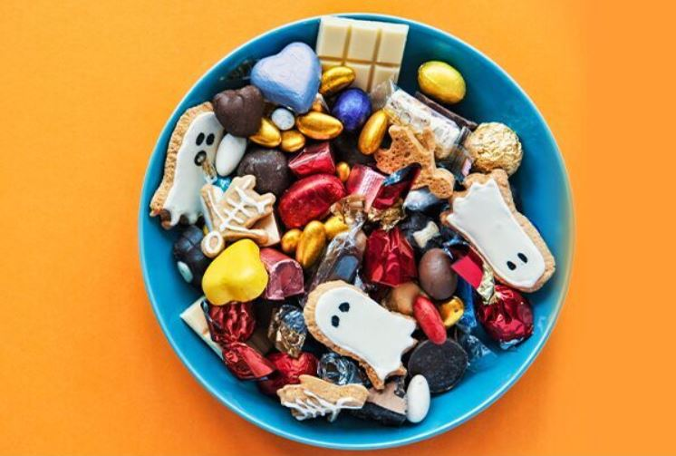 Photo of a bowl of candy