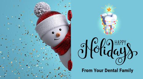 EJL Dental Happy Holidays poster