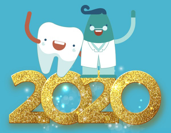 EJL Dental Happy New Year poster